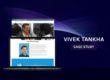 Vivek Tankha case study, portfolio