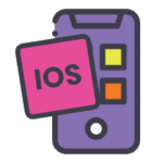This image is the icon to showcase our capability of building iOS apps