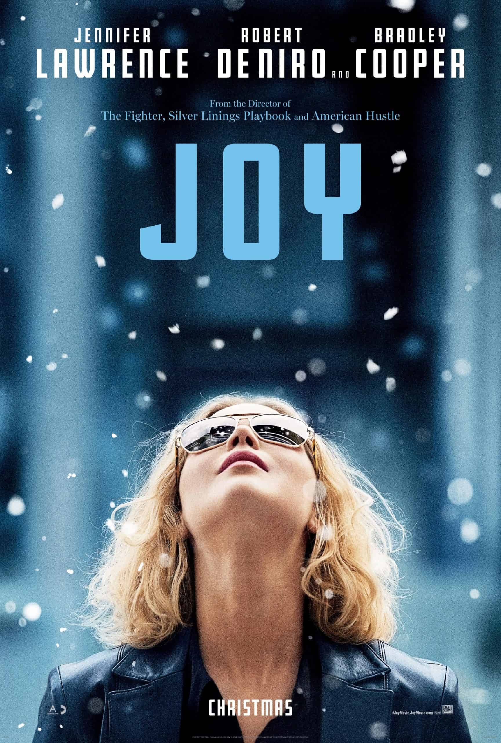 This is the cover photo of the movie Joy. It stars Jennifer Lawrence, Robert DeNiro and Bradley Cooper. It is one of the top inspirational movies for entrepreneurs and startup founders